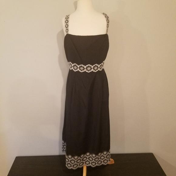 ANTONIO MELANI Dresses & Skirts - Antonio Melani silk Eyelet Dress size 14